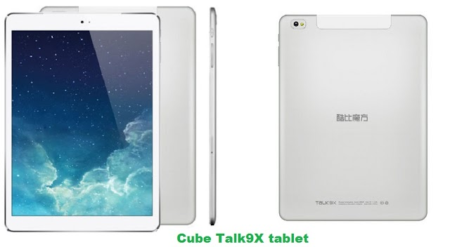 Cube Talk 9X tablet