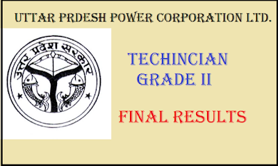 UPPCL TG II 2015 Final Result