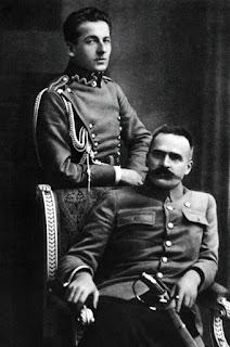 Józef Piłsudski i Bolesław Wieniawa-Długoszowski