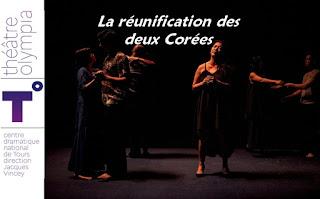 LA RÉUNIFICATION DES DEUX CORÉES JOËL POMMERAT JACQUES VINCEY theatre Tours