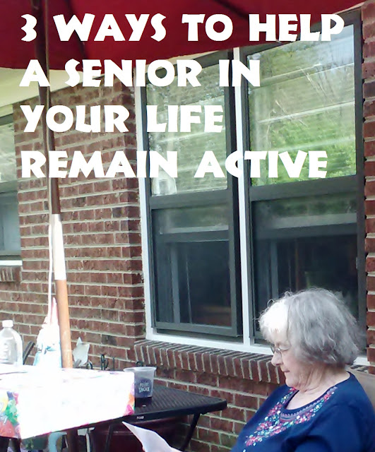 3 ways to help a senior in your life remain active
