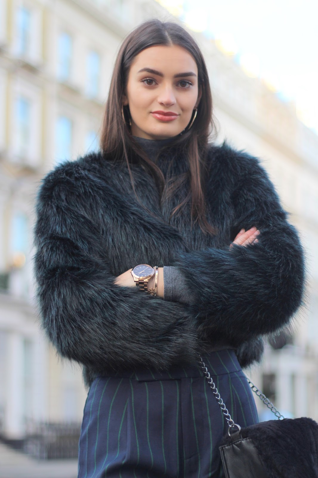 faux fur coat monsoon