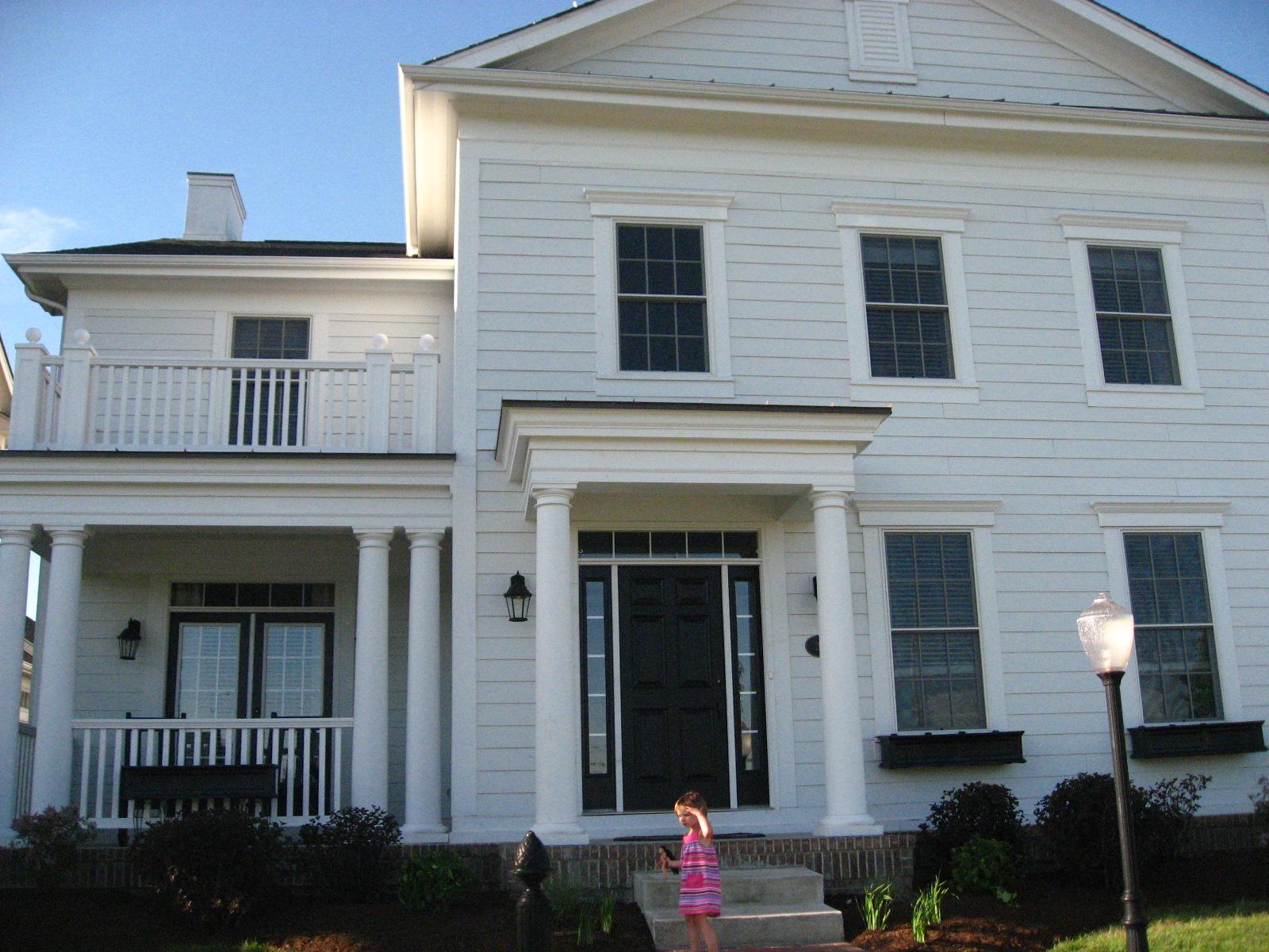 House envy white on white on white - Houses with white trim ...