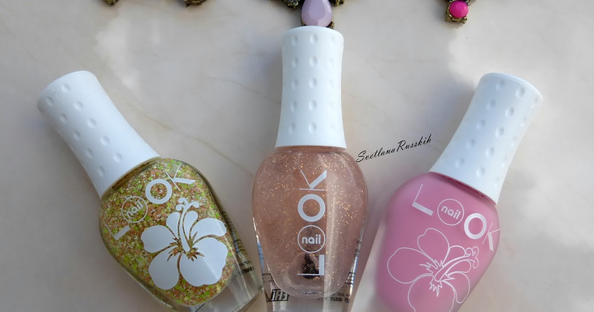 Nail Look Aloha #31456, 31451 & Miracle Top #30691 | Beauty Blog ...
