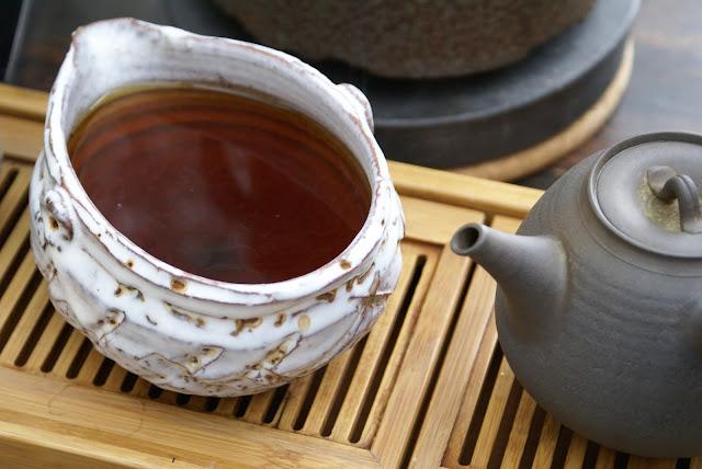 thé torréfié japonais