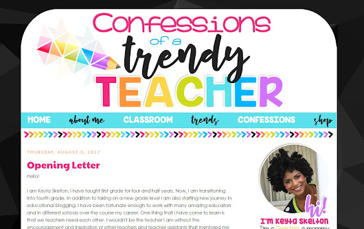 Confessions of a Trendy Teacher