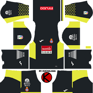 RCD Espanyol 2017/18 - Dream League Soccer Kits