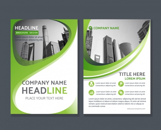 Get Free Green Corporate Abstract Brochure