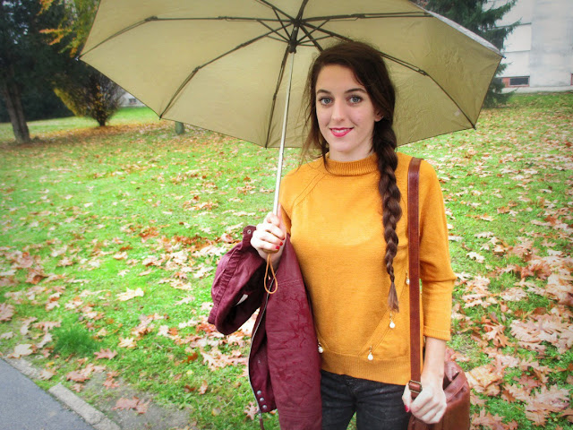 Rosegal recenzija, review, online trgovina, jesen, jesenski look,  fashion, burgundy, mustard, boja senfa, autumn, fall, umbrella, rainy day, kišni dan, rosegal saj, moje iskustvo s rosegal trgovinom, wishlist