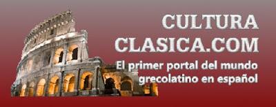 Captura de pantalla de la web cultura clásica