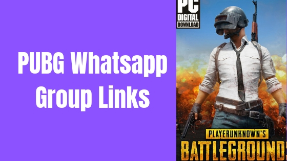latest pubg whatsapp group links list