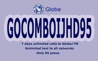 Globe GOCOMBOIJHD95