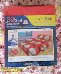 Sprei Lady Rose Tiffany Ukuran 180