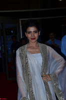 Samantha Ruth Prabhu cute in Lace Border Anarkali Dress with Koti at 64th Jio Filmfare Awards South ~  Exclusive 048.JPG