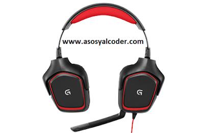 Logitech G230 Stereo Gaming Headset,Logitech G230,Gaming Headset,Oyuncu Kulaklığı,Kulaklık