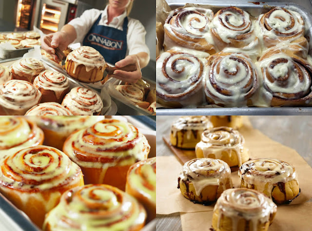 نقدم لكم طريقة عمل السينابون الأمريكي مع موقع عالم الطبخ والجمال بطريقة سهلة جداً في المنزل!