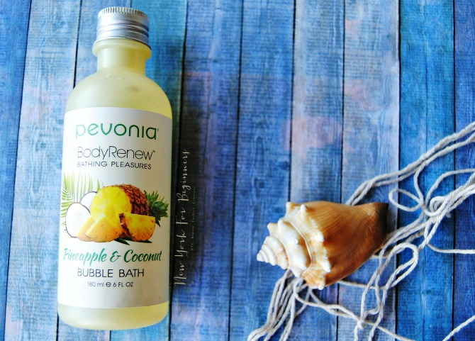 Pevonia BodyRenew bubble bath review at New York For Beginners