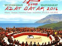 Musyawarah Masyarakat Adat Batak 2016