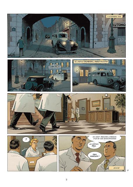 """page de """"A LA VIE, A LA MORT"""" T1 par Séjourné et Rodolphe chez Soleil"""