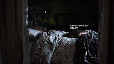 dark duvet cover set h&m