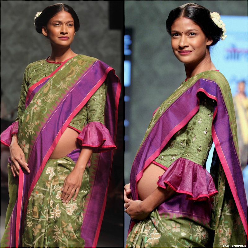 Lakmé Fashion Week Summer/Resort 2016: The Changing Face Of Indian Fashion - Making A Pregnant Statement