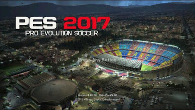 Official PES 2017 Startscreen For PES 2016 by Apocaze