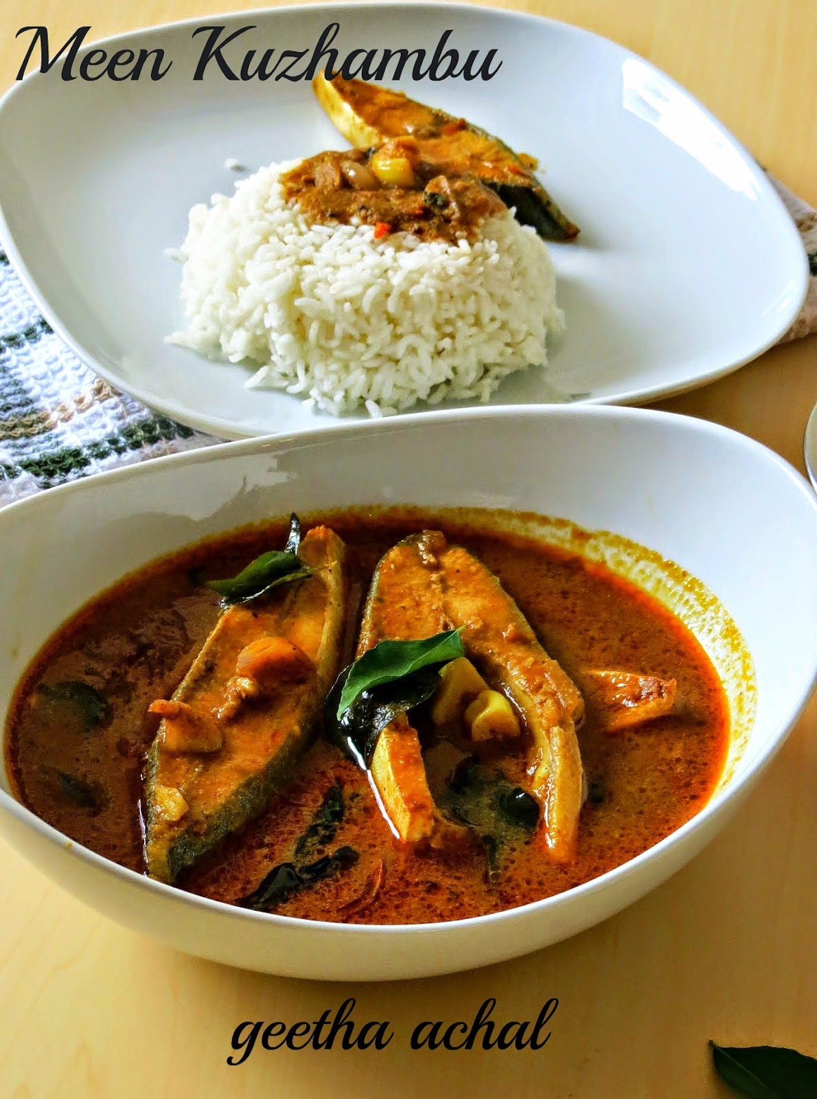 Salem Fish Curry