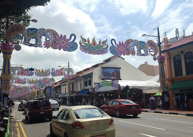 ornamented Little India Street