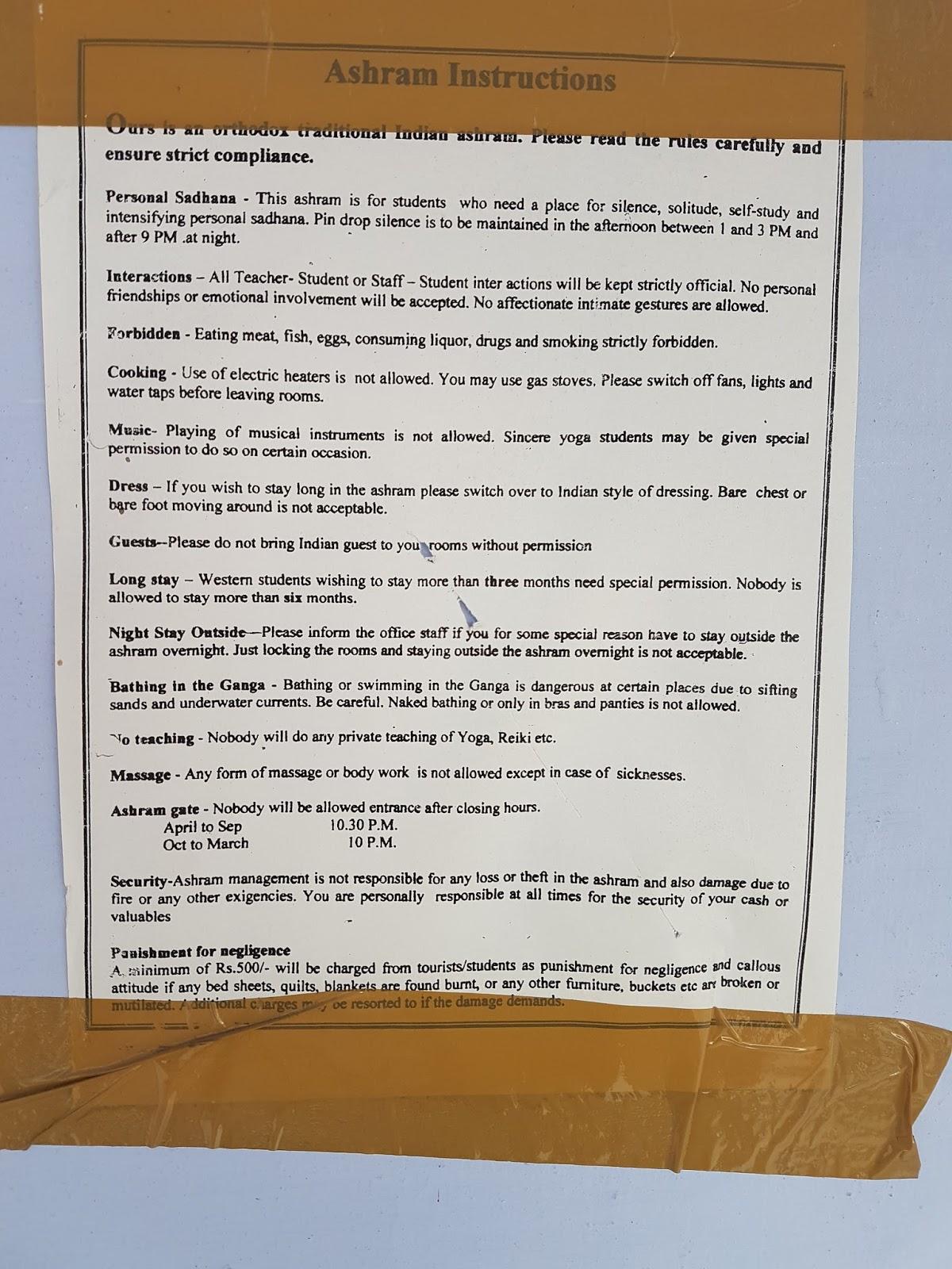 Staying in an ashram in Rishikesh India - Ummi Goes Where?