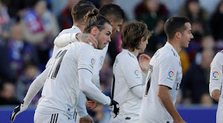 Gareth Bale concluded a three-month goal drought in La Liga