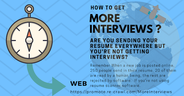 How to get more interviews