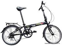 Sepeda Lipat FOLD-X OSAKA 20 Inci