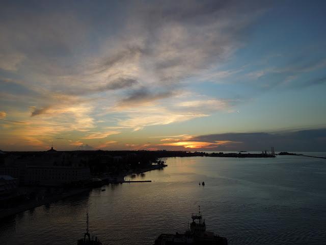 Nassau at sunset