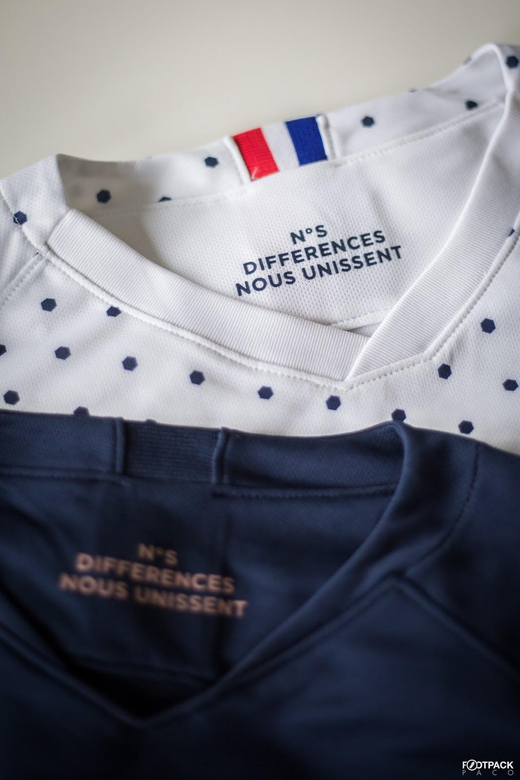 detailed look ac22d 33cd0 Nike Frankreich Frauen-WM 2019 Trikots mit Anspielung auf ...