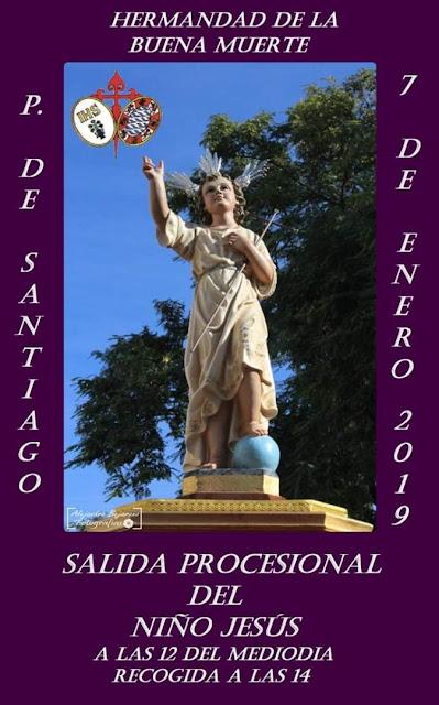 Este domingo la primera procesión del año en Jerez de la Frontera: el Niño Jesús de la Buena Muerte
