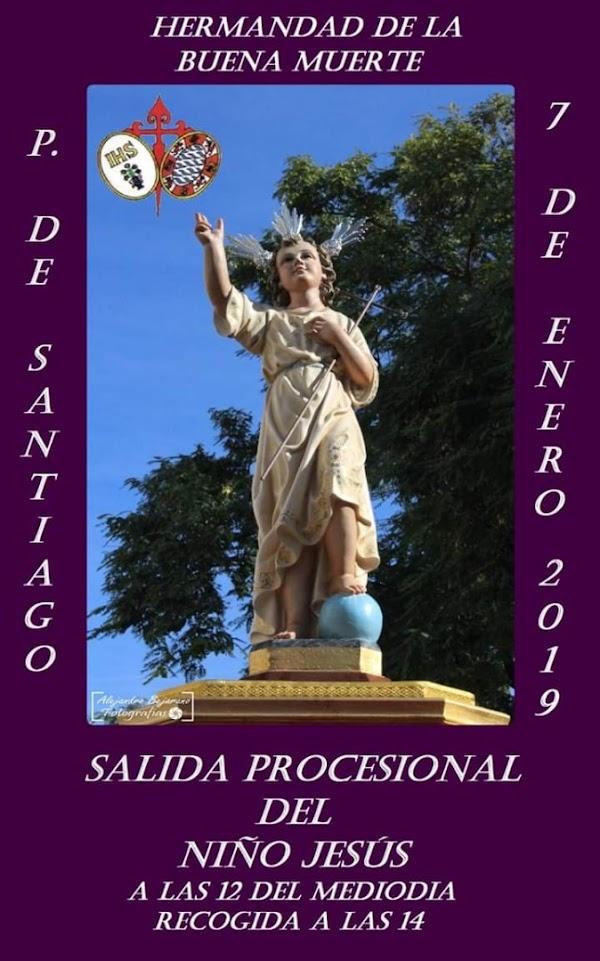 Este lunes la primera procesión del año en Jerez de la Frontera: el Niño Jesús de la Buena Muerte
