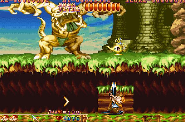 Three Wonders Stage 1 Main Boss Screenshot