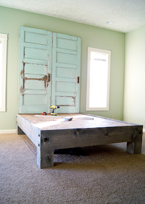Farmhouse Master Bedroom Design Plan - farmhouse bed