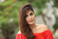Rhea Chakraborty in Red Crop Top and Denim Shorts Spicy Pics ~  Exclusive 358.JPG