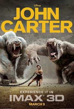 John Carter Hollywood Movie 2012 Online Free DVD Taylor Kitsch  Lynn Collins First Look Poster