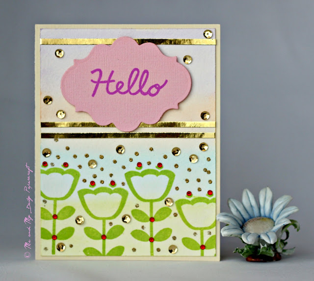 Post#205 - Me And My Daily Papercraft Blog - Handmade Card by PriCreated