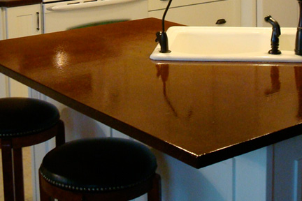 Rustchic Particleboard Countertop