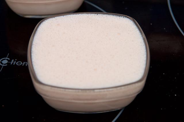 Crème aux chamallows - cuisine - cooking - fluff - dessert - cream - panna cotta - marshmallow - guimauve - bonbon