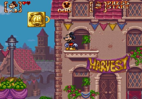 mickey to donald  magical adventure 3  snes paradise