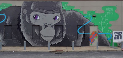 Gorilla Mural by Nicky Davis