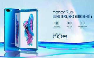 Honor 9 Lite Flash Sale | फ्लिपकार्ट पर बिकेगा हॉनर 9 लाइट