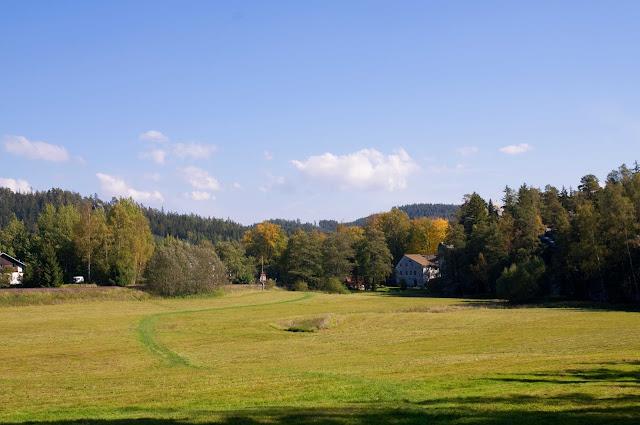 Czeski krajobraz, widoki na Adrszpaskie Skalne Miasto