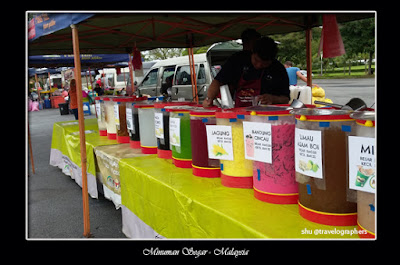 kuliner malaysia, cuisine, ABC, Ais Milo, Ais Teh Tarik, Air Mata Kucing, Pop The Soda, Tembikai, Asam Boi, Lay Chee kang, Ais Jagung, Chendul Penang
