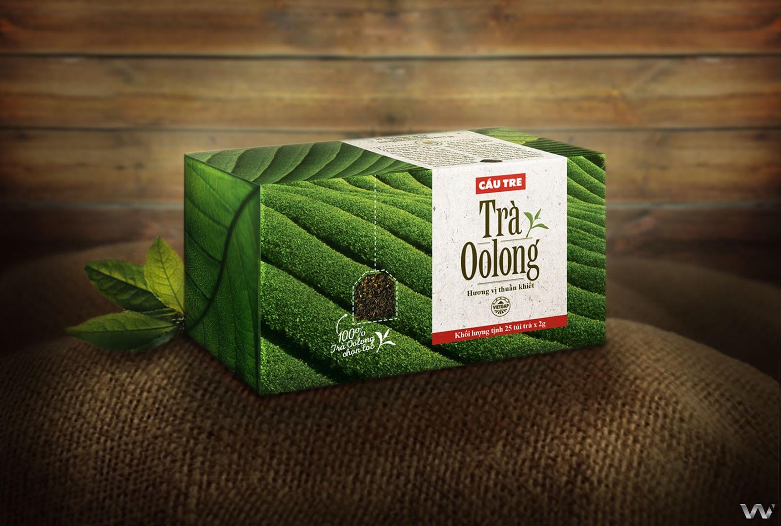 Cau Tre Oolong Tea on Packaging of the World  Creative