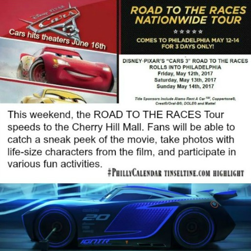 Disney Pixar Cars 3 Event in Philly